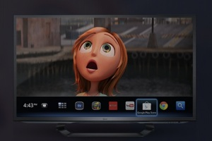 GoogleTV UI